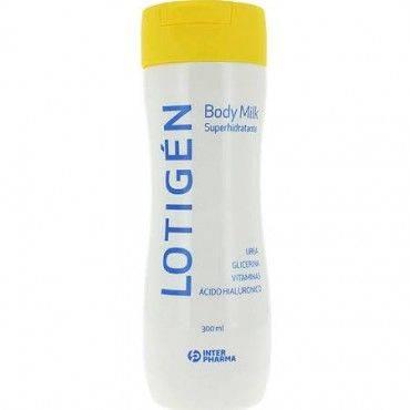 Lotigen Body Milk Superhidratante InterPharma 300 Ml