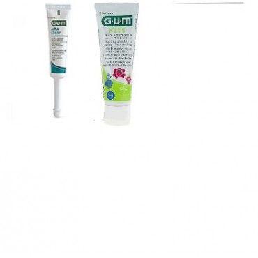 Gum Junior Pasta Dental 50 Ml + Gel Afta Clear