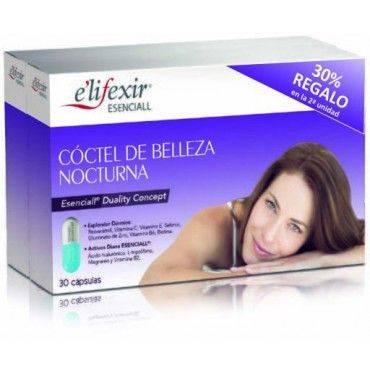 Elifexir Esenciall Cóctel De Belleza Nocturna 2 X 30 Cápsulas