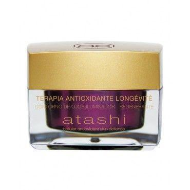 Atashi Contorno De Ojos Iluminador Antioxidante Longévité 15 Ml