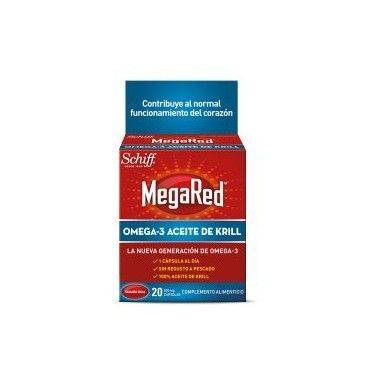 Megared Omega-3 Aceite De Krill 500Mg 20 Cap