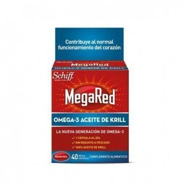 Megared Omega-3 Aceite de Krill 30+10 Cápsulas Gratis