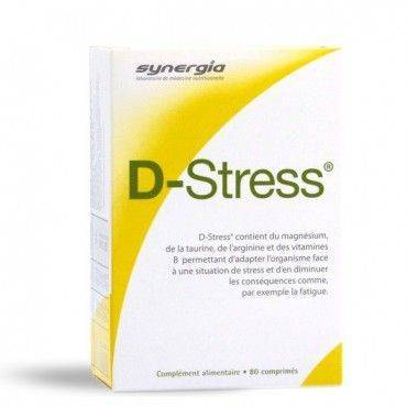 Synergia D-Stress 80 Comprimidos