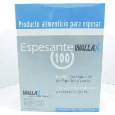 Espesante Wallax 100 Sobres 9 Gramos
