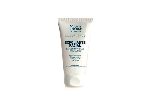 El exfoliante facial de Martiderm es uno de los mejores exfoliantes de farmacia