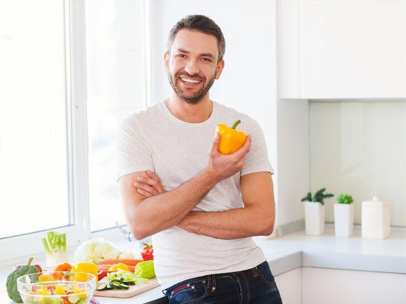 la alimentación es clave para tener un estilo de vida saludable