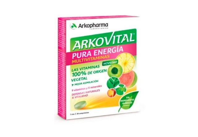 Suplemento de vitaminas y minerales Arkovital
