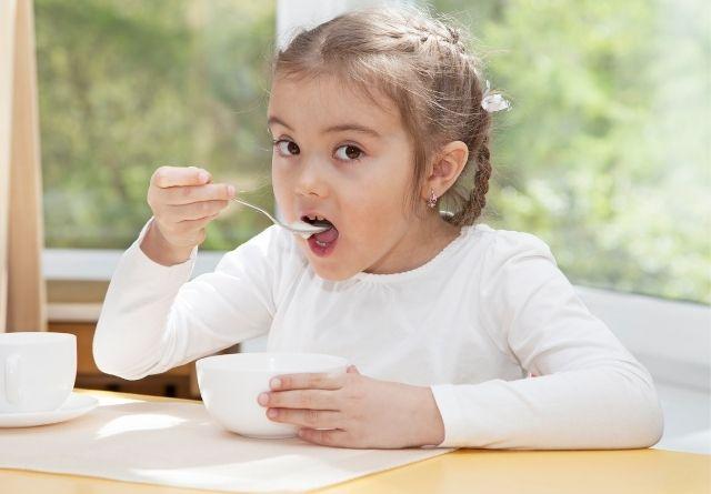 Los lácteos en los niños ayudan a su crecimiento