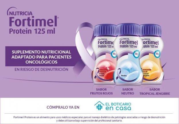 Fortimel Protein, ya en El Boticario en Casa