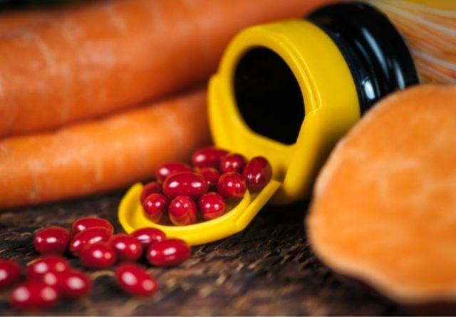 Los betacarotenos se pueden tomar en cápsulas.