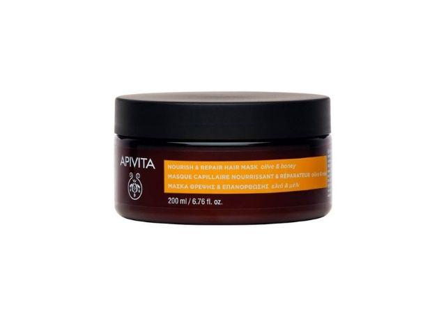 Apivita mantiene el cabello sano.