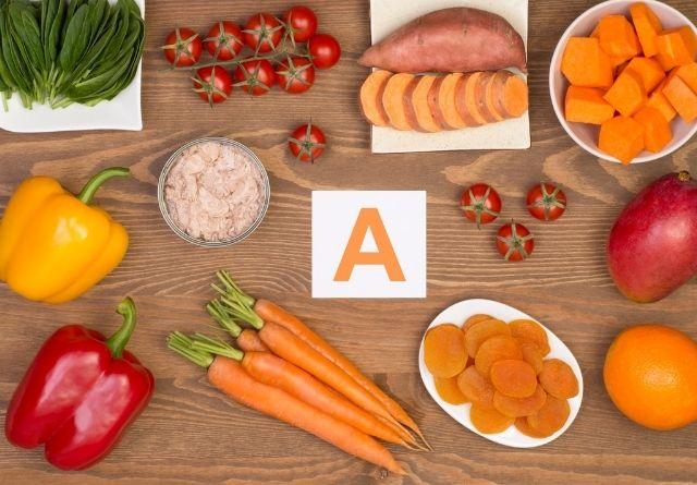 Existen muchos alimentos ricos en betacarotenos.