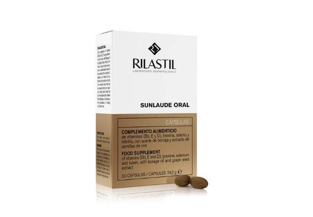Rilastil tiene en su fórmula betacarotenos.