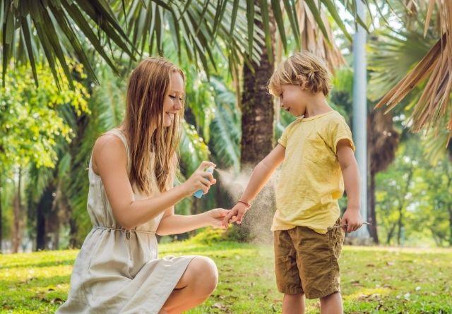 La citronela se puede usar en niños.