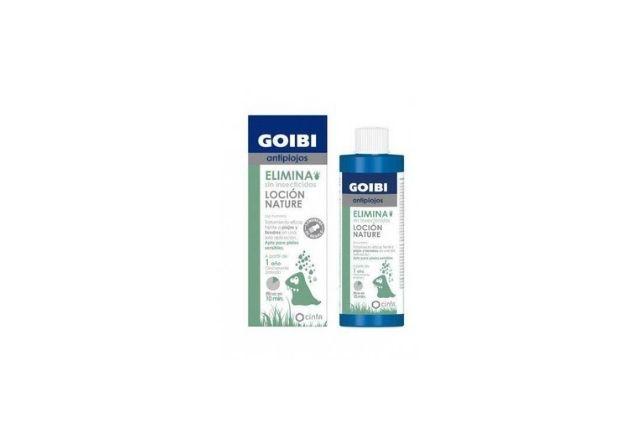 La loción de Goibi es una solución eficaz para combatir los pijos en niños.