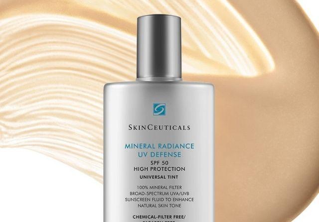 protector solar de Skinceuticals Mineral Radiance UV Defense SPF50 protege tu piel de las manchas.