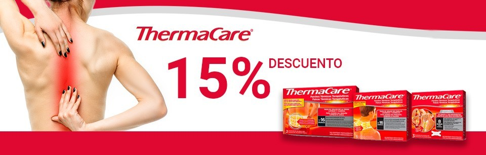 Thermacare 15%dto