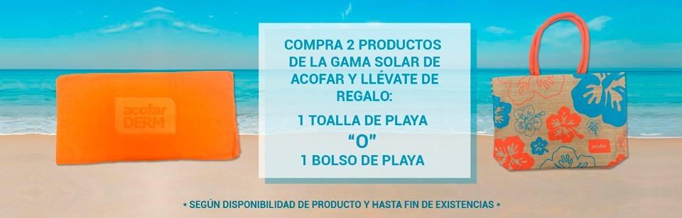 Promo Toallas y Bolsos Playa Acofar