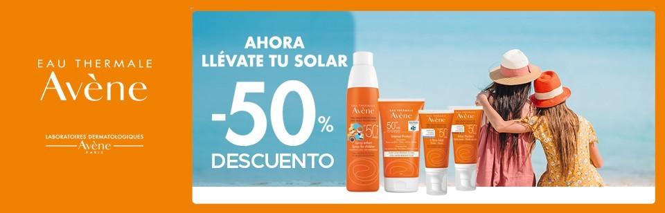 Oferta Avène solar