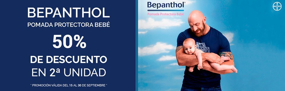 Promo Bepanthol Bebé 50% en 2ª unidad