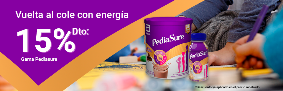 Pediasure 15% dto