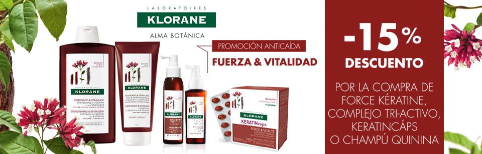 Klorane anticaida 15%dto