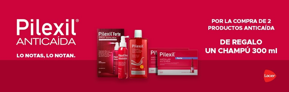 Pilexil anticaída oferta REGALO