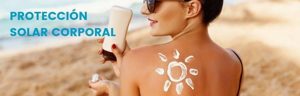 Protetor solar corpo