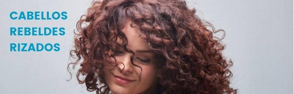 Hair rebel, curly... -
