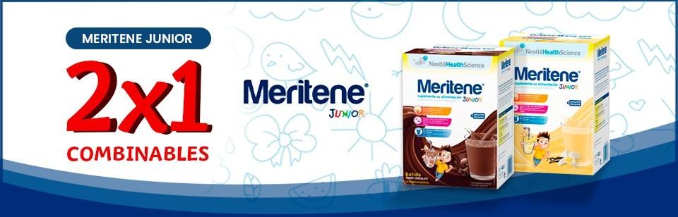 Oferta Meritene Junior 50% segunda unidad