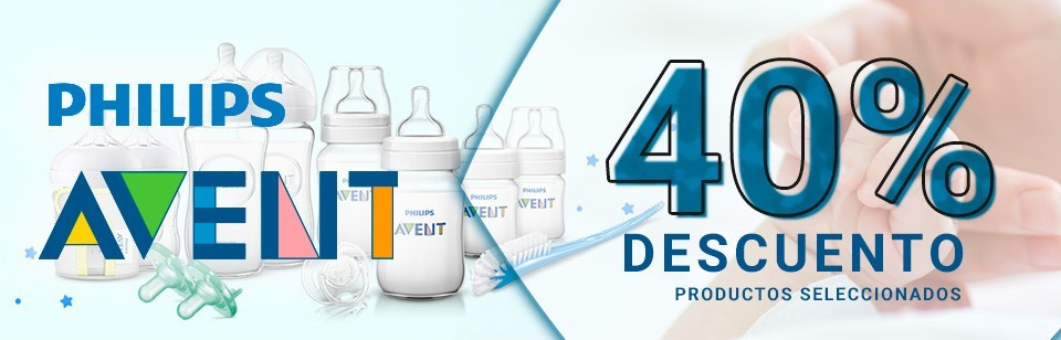 Avent Philips 40% dto