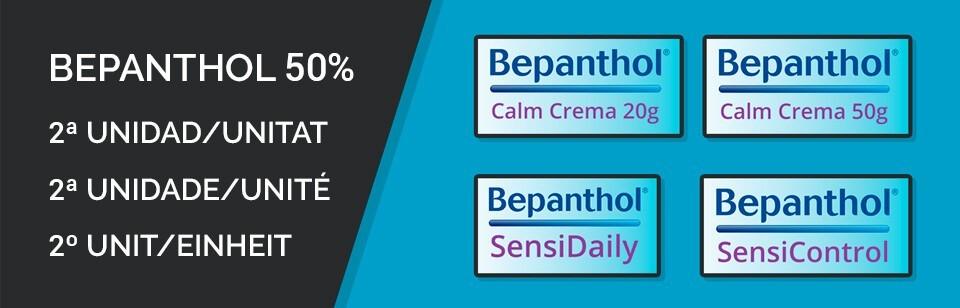 Bepanthol descuento 50% Segunda unidad