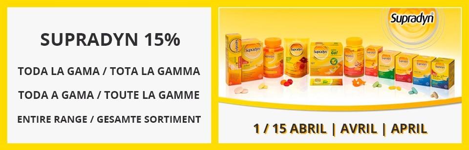Promoción Supradyn 15%