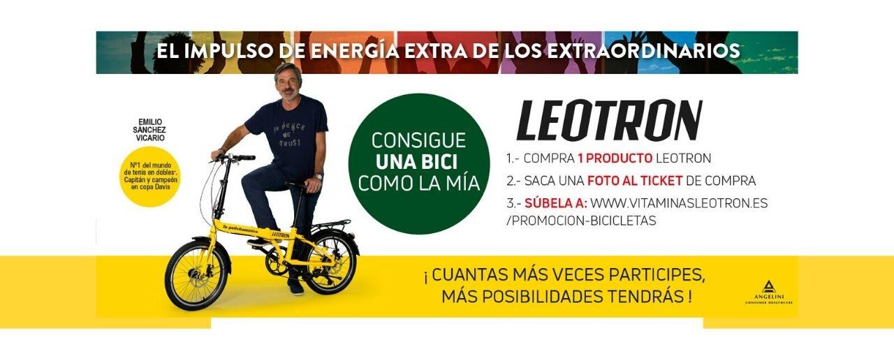 Leotron y El Boticario en Casa sortean una bicicleta